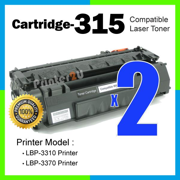 A1 Cartridge 315/Cartridge315/CRG315 Compatible Canon LBP 3310/3370