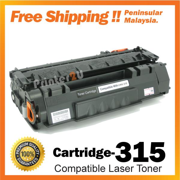 A1 Cartridge 315/CRG Compatible Canon LBP3310 LBP3370 Toner Cartridge