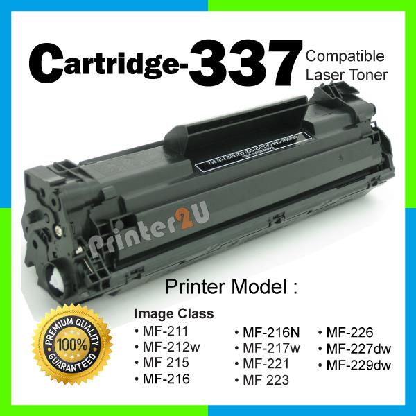 A1 Cartridge 337/CRG337/Cartridge337 Compatible Canon MF 211 212w 221d