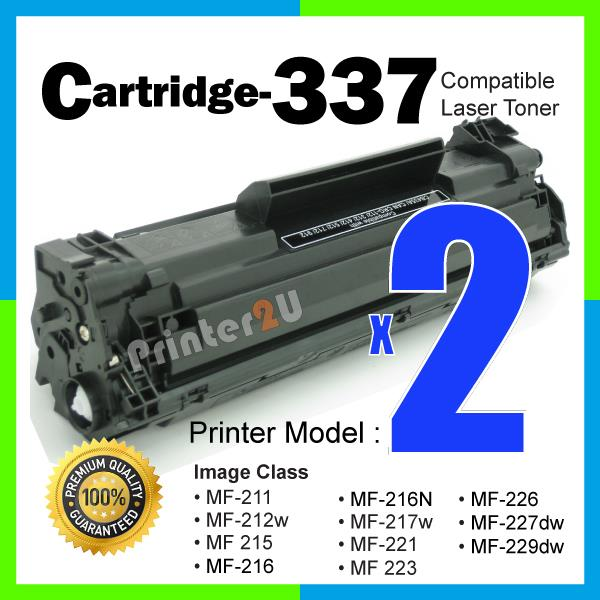 A1 Cartridge 337/CRG337 Compatible Canon MF 215 226dn MF226dn MF217w