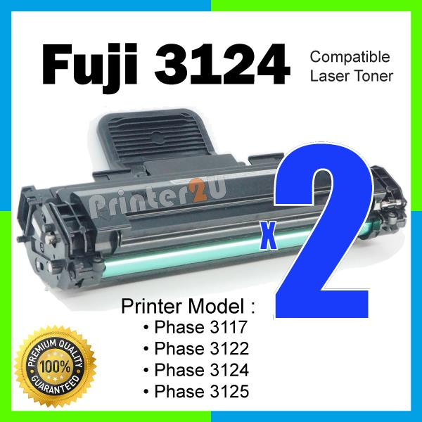 A1 Compatible Fuji Xerox Phaser 3124 Laser Toner 3117/3122/3124/3125