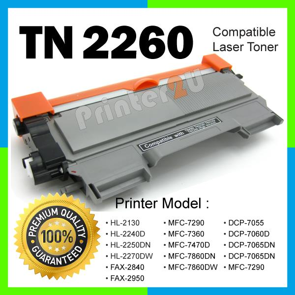 A1 TN2260/TN 2260/2280 Compatible Brother DCP7055 DCP7060D DCP7065DN