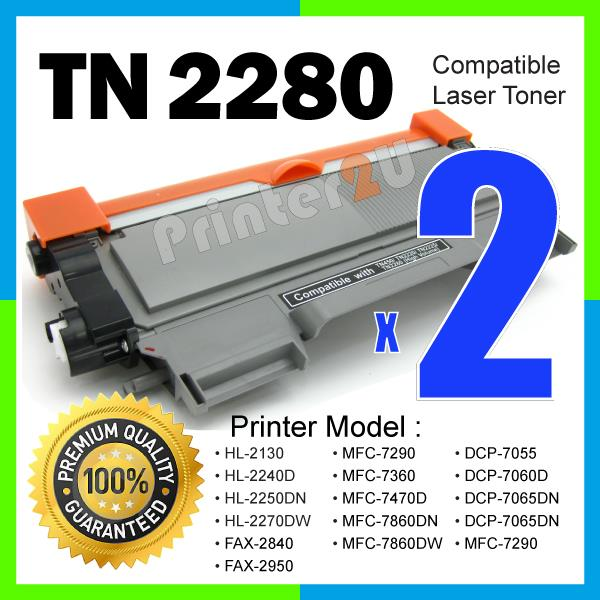 A1 TN2280 Compatible Brother MFC-7360/7860DN/7290/7470D/FAX-2840/2950