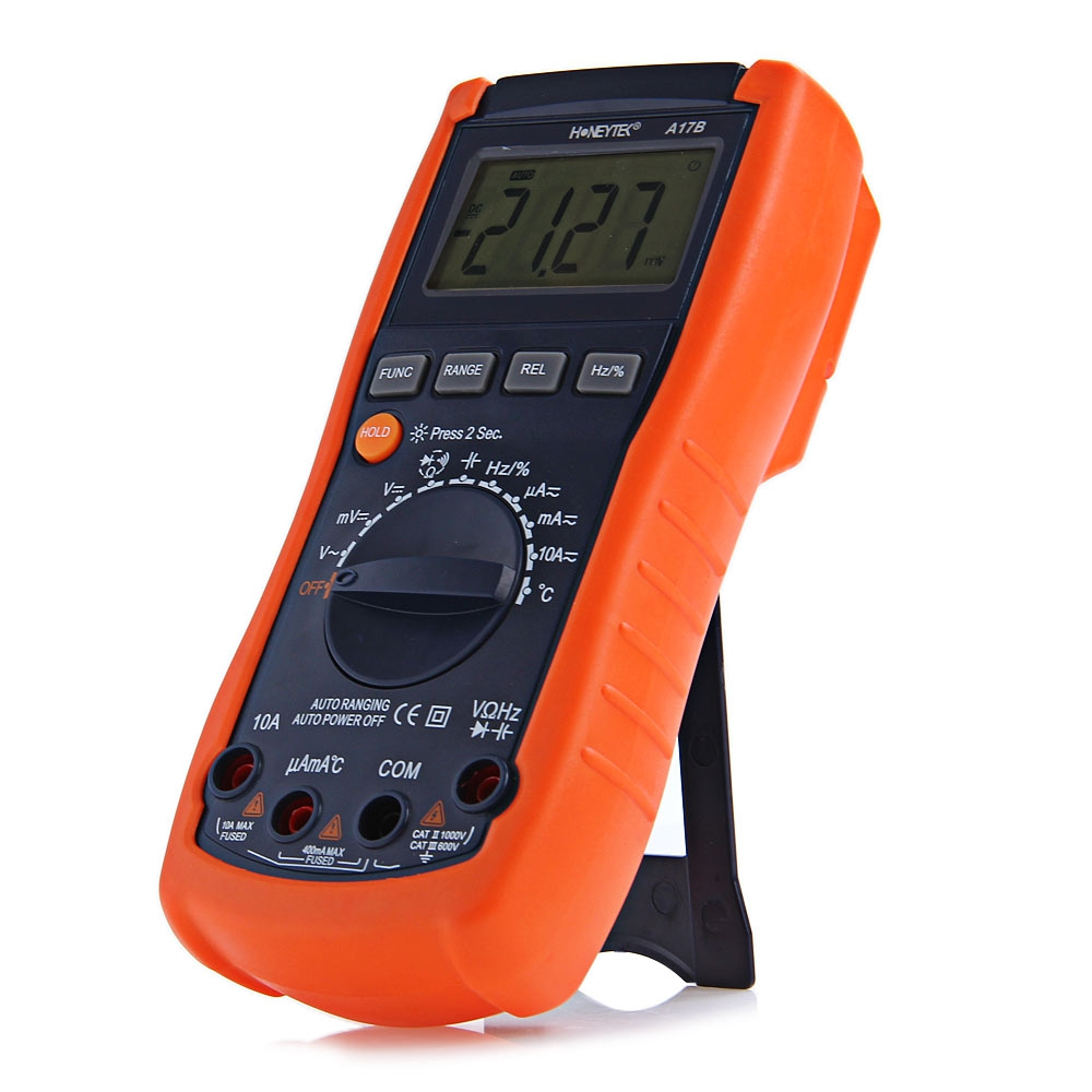 A17B DIGITAL VOLTAGE RESISTANCE CAPACITANCE FREQUENCY TESTER
