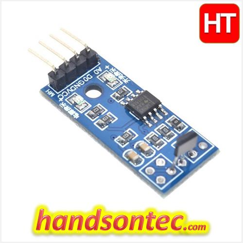 A3144 Hall Effect Magnetic Sensor Module