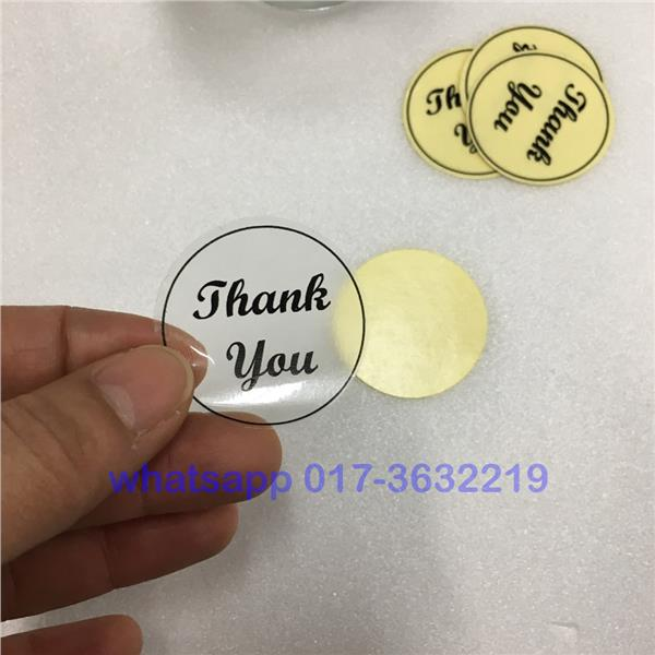 A4 clear sticker paper for inkjet and laser printer