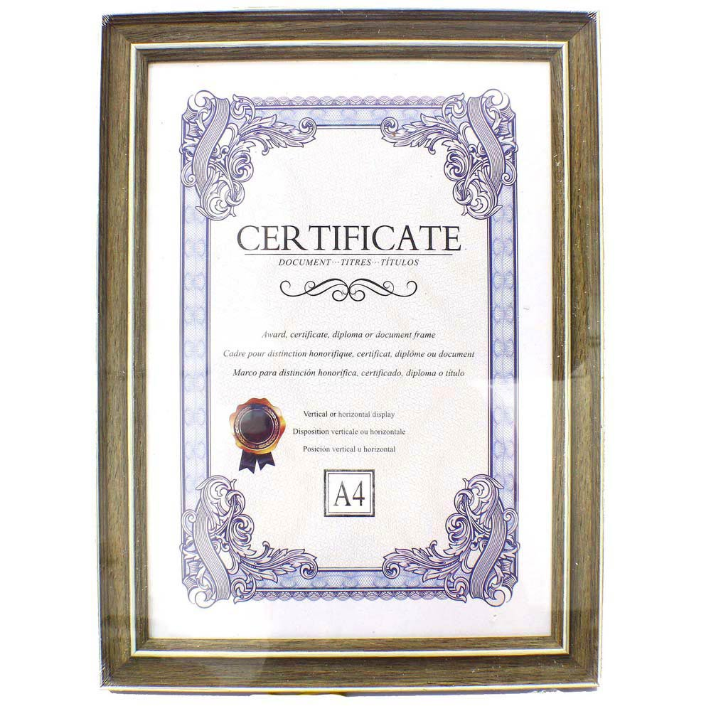 A4 Document Certificate Photo Frame (end 11/15/2020 7:24 PM)