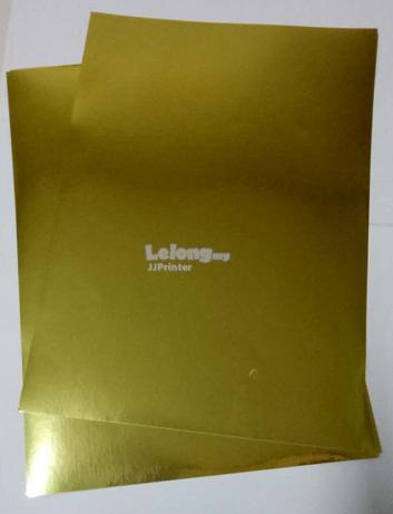 A4 Glossy Gold Label Sticker Paper End 11282019 1015 Pm