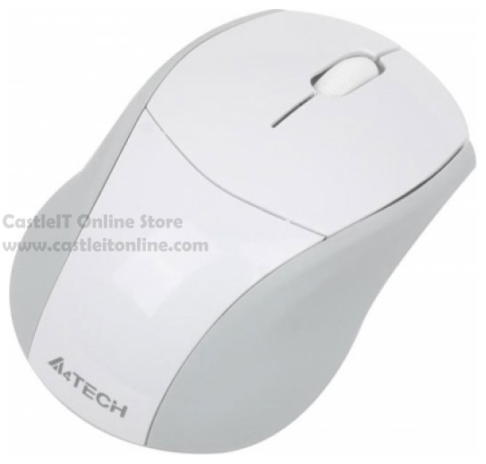 A4TECH Mouse Wireless PADLESS (G7-100N) WHITE