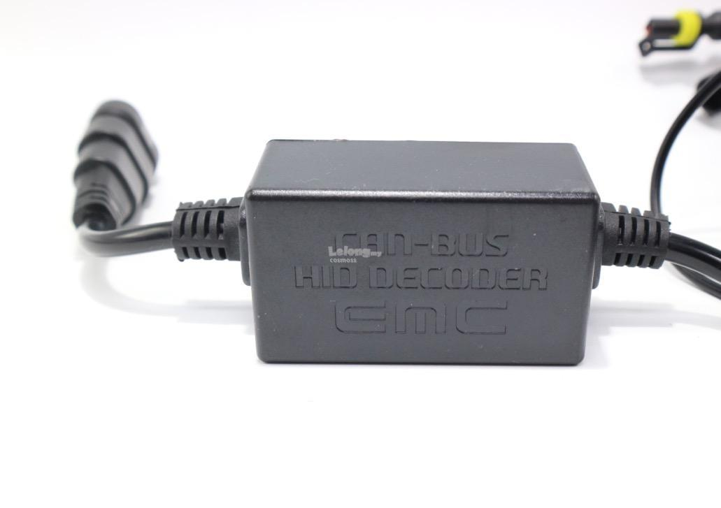A6 New Slim 55w canbus ballast WITH LED HID conversion kits