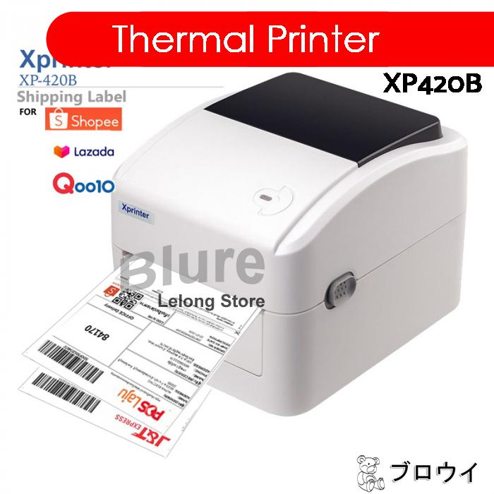 A6 Thermal Printer Waybill Barcode Shipping Label Xprinter XP420B