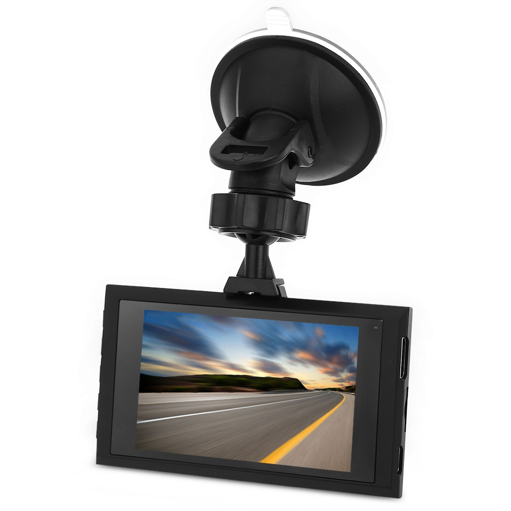 A8 1080P FULL HD 170 DEGREE WIDE ANGLE CAR DVR RECORDER (BLACK)