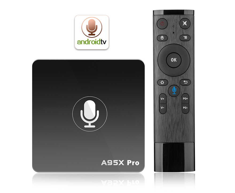 A95X PRO TV Box with Voice Control Amlogic S905W Android 7.1 2GB RAM +..
