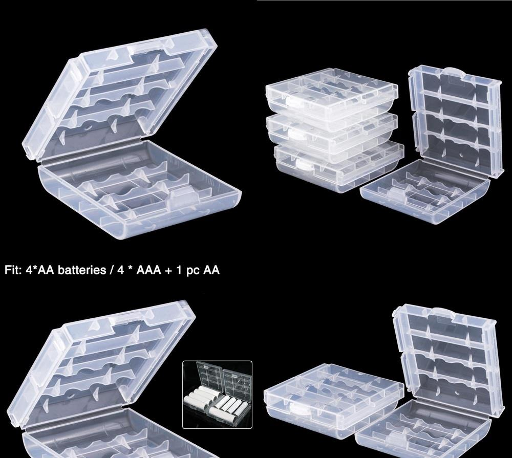 AA AAA Battery Storage Box Holder Case LR6 Casing Cover