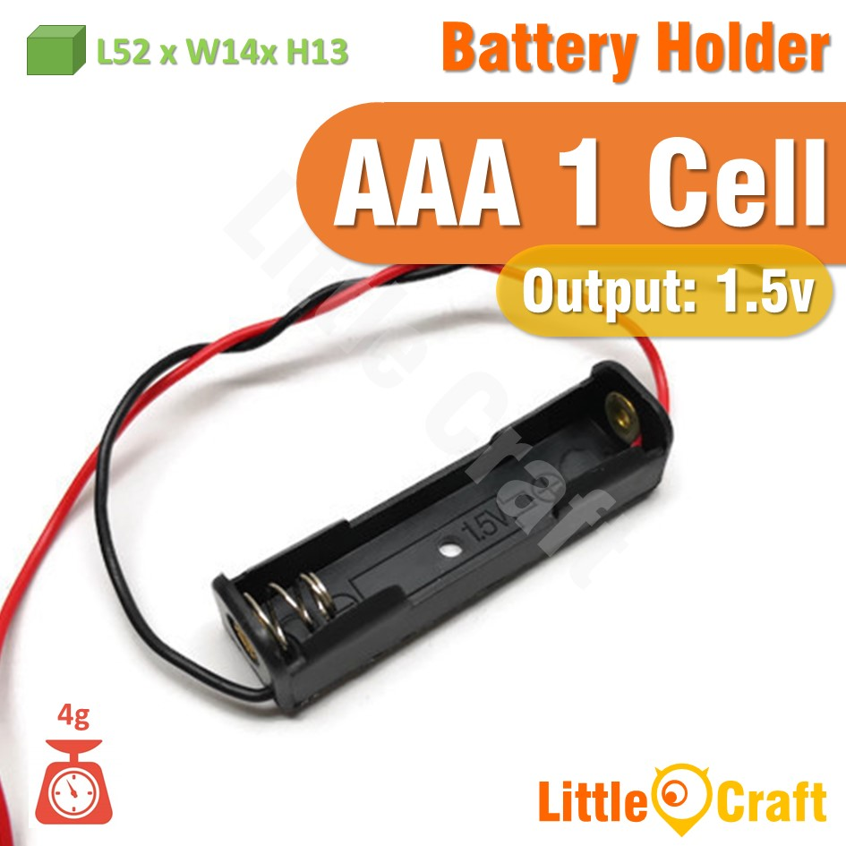 AAA Battery Holder With Cable 1 Cell 2 Cell 3 Cell 4 Cell 6 Cell 8 Cel