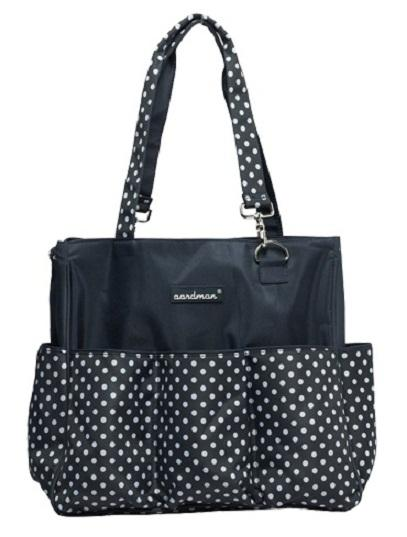 Aardman 3 in 1 Stroller & Shoulder Diaper Bag - Dark Blue
