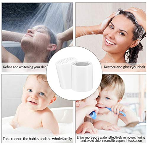 ~ AB 15 Stage Shower Filter Replacement, Removes Chlorine, Microorganisms, Har