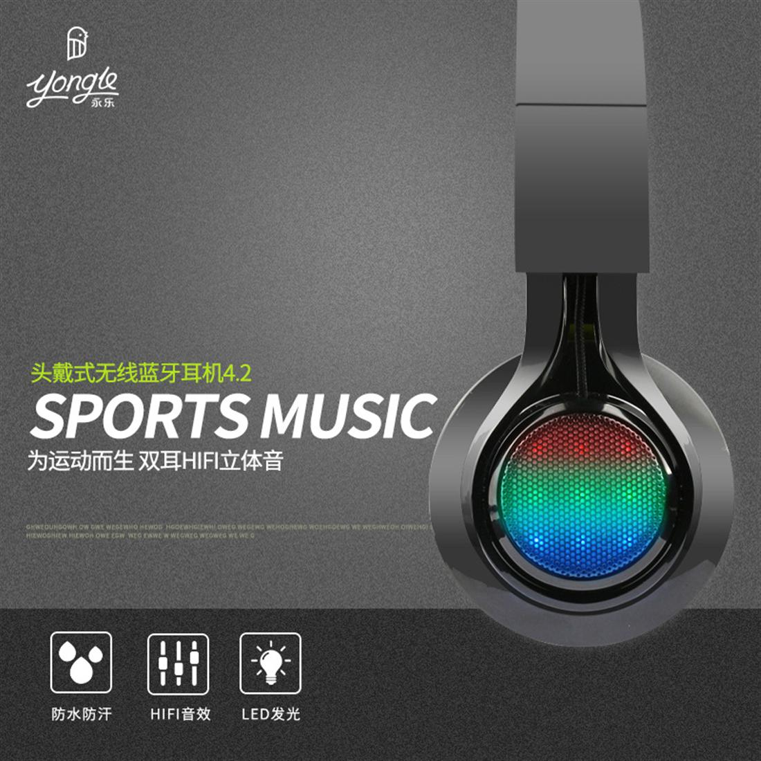 AB005 Wireless LED Bluetooth Headset