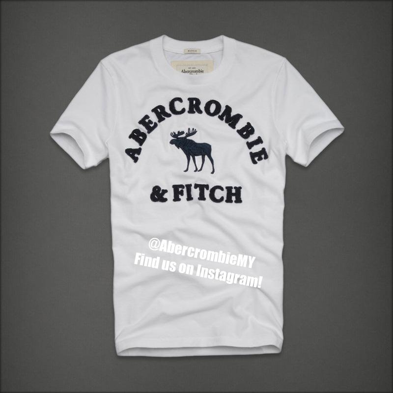 Abercrombie fitch t shirt the logo end 2 2 2016 10 15 pm for Abercrombie and fitch t shirts online shopping