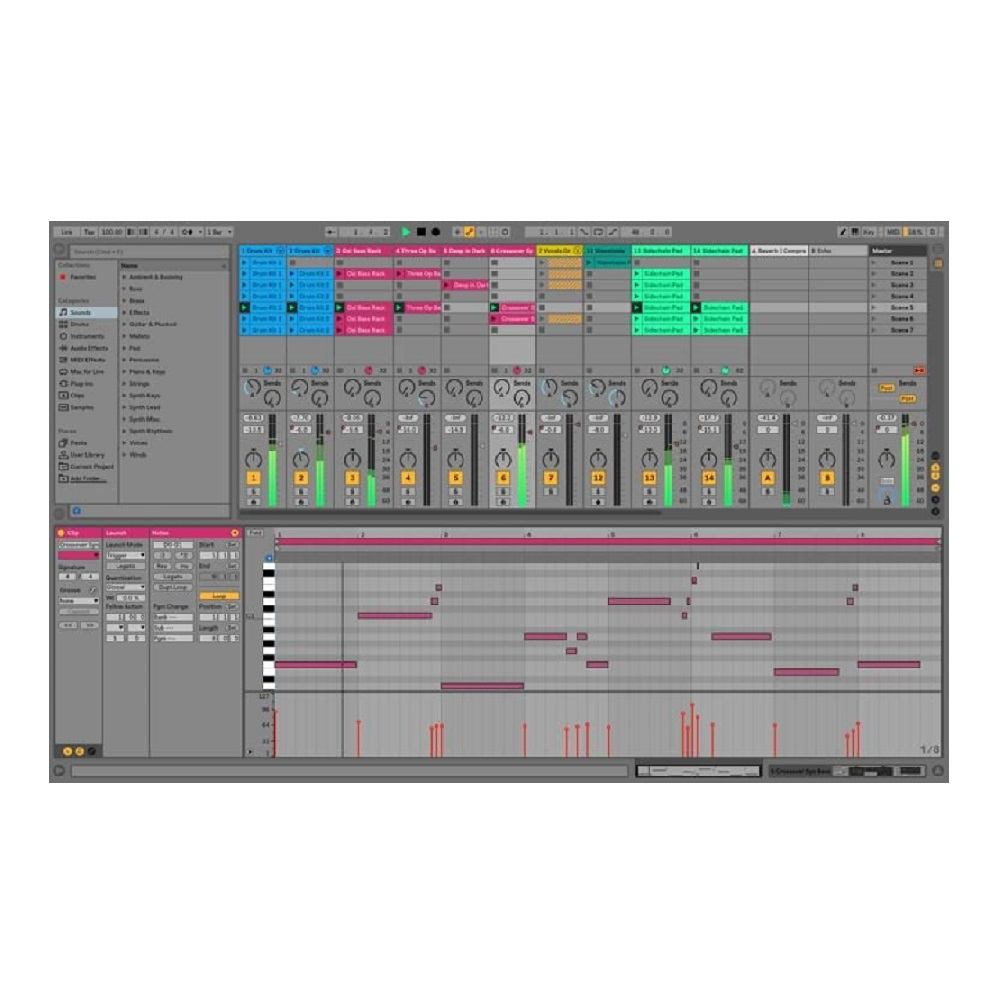 Ableton Live 10 Suite Edition, Upgrade from Live 7-9 Suite