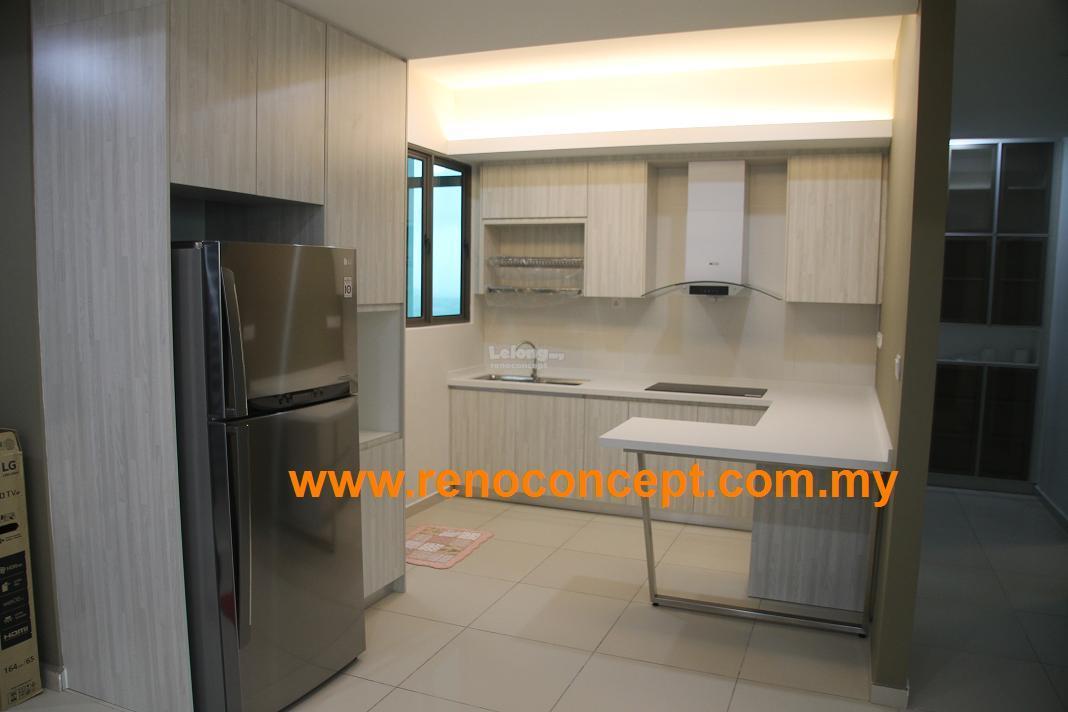 Abs Kitchen Cabinet Penang Tree Sparina