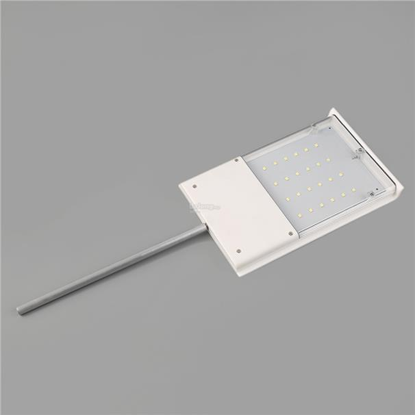 ABS+UV 24 LED Ultra-thin Waterproof Solar Sensor Wall Street Light Out