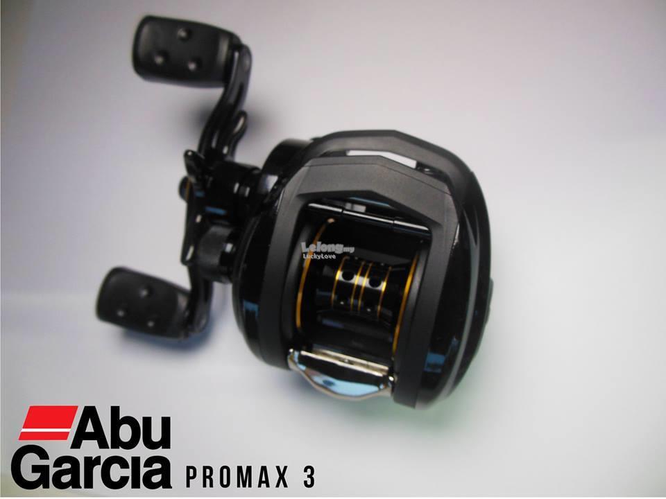 ABU GARCIA PROMAX 3 Casting Fishing Reel Mesin Pancing Pro Max