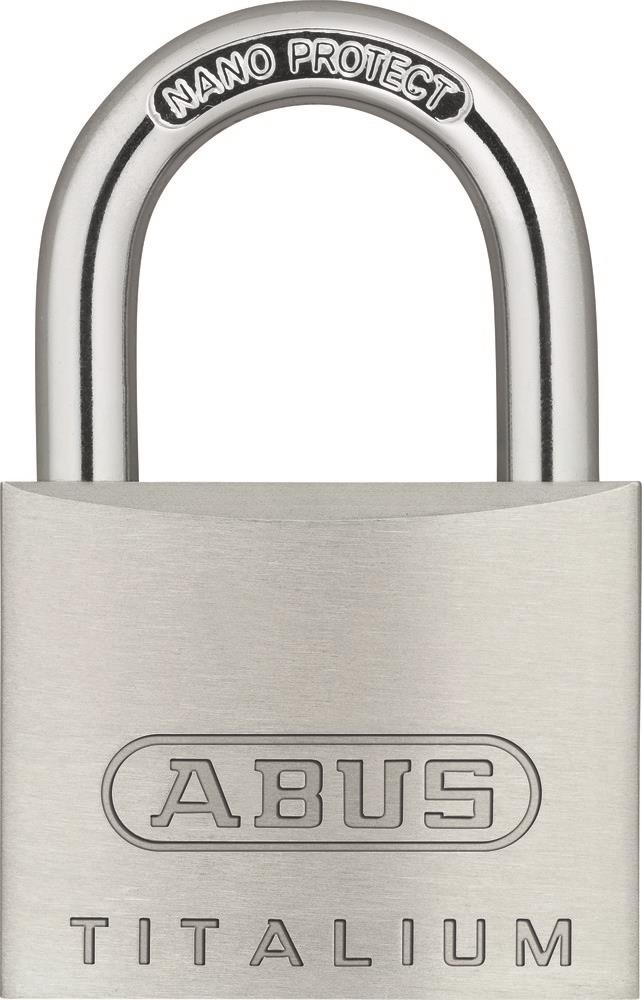 ABUS 64TI/40 Titalium Luggage Padlock 40mm Keyed Alike KA2