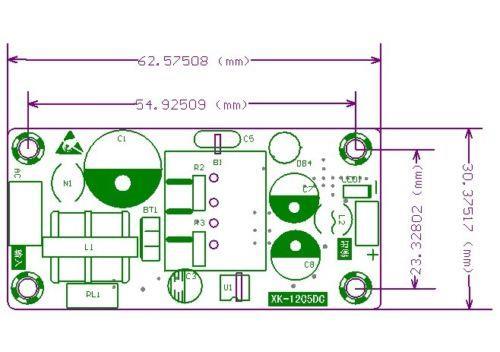 ac converter 110v 220v to dc 5v 2a 10w regulated transformer