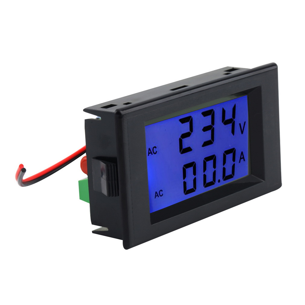 ac digital ammeter voltmeter lcd p end 11 21 2019 12 21 am. Black Bedroom Furniture Sets. Home Design Ideas