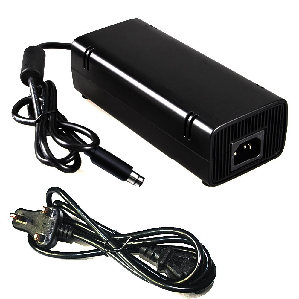 AC Power Adapter for Xbox 360 S and E UK Plug