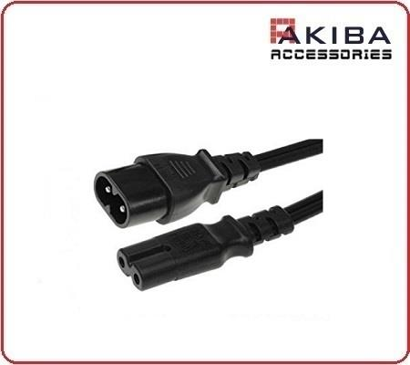 AC Power Cord IEC 320 C7 to C8 Extension Cable