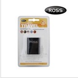 AC ROSS UNIVERSAL TRAVEL ADAPTER (T21M-BE) BLK