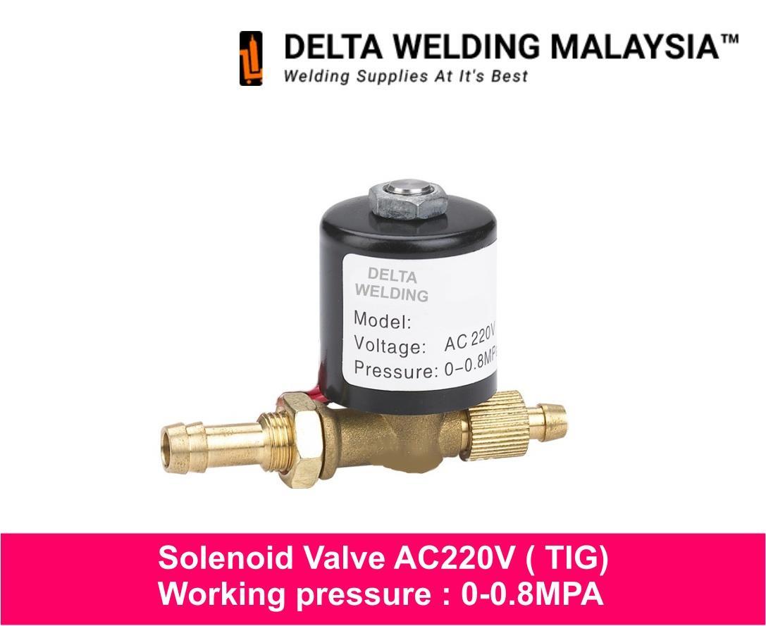 AC220V solenoid valve for TIG welding machine Malaysia