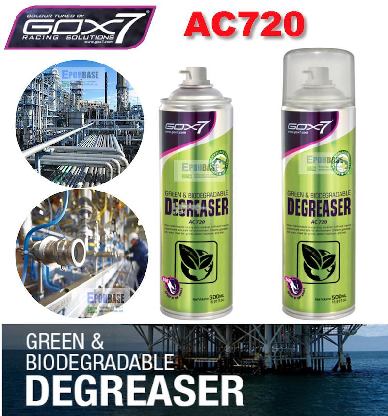 AC720 Gox7 Automotive Green & Biodegradable Degreaser, Heavy Duty