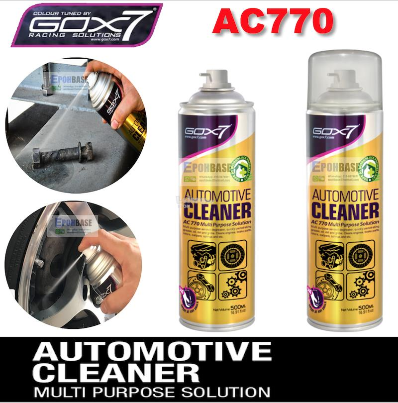 AC770 Gox7 Multi Purpose Solution Cleaner, Multi-purpose Cleaning