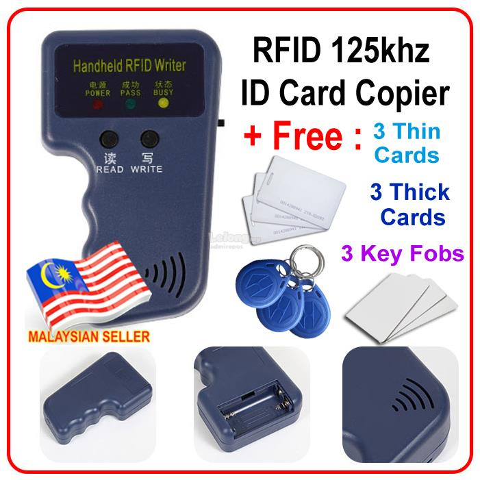 Access card copier duplicator ID 125khz RFID card duplicate cloning