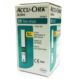 Accu-Chek Active Test Strips 25's
