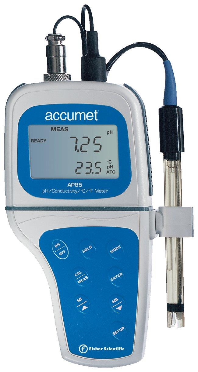 Accumet* AP85 Protable Waterproof pH/Conductivity M
