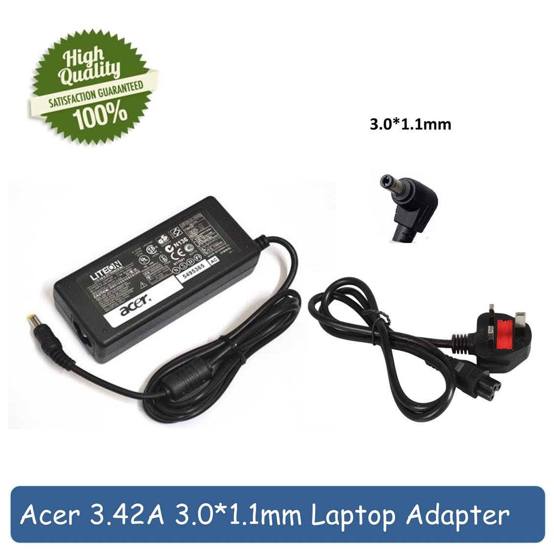 Acer 3.0*1.1mm Iconia W700 W700P W710 Series 65W Charger Adapter