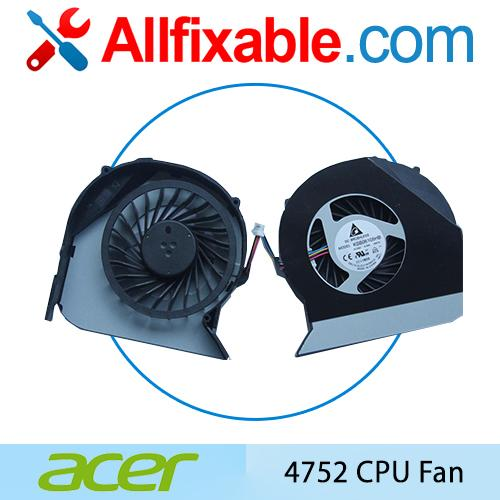 Acer 4743 4743G 4743Z 4750 4750G 4752 4752G 4755 4755G TM4750 cpu fan