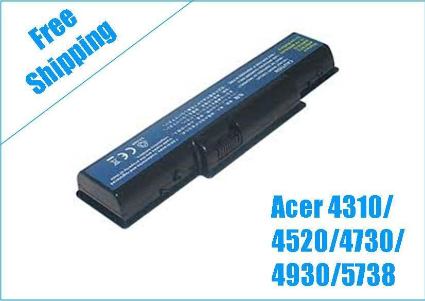 Acer Aspire 4310 11.1V 4400mAh Battery - Compatible Brand
