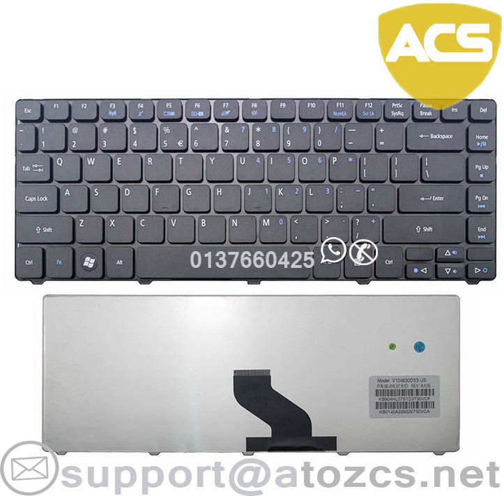 Acer Aspire 4820 4820G 4820T 4820TG 4625 4625G Laptop Keyboard