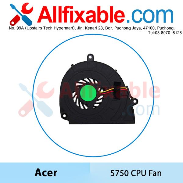 Acer Aspire 5750 E1-571G  V3-571 V3-571G Laptop Cooling CPU Fan