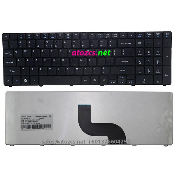 Acer Aspire 7540 7735 7741 5810T 5820 5536G 5738G Laptop Keyboard