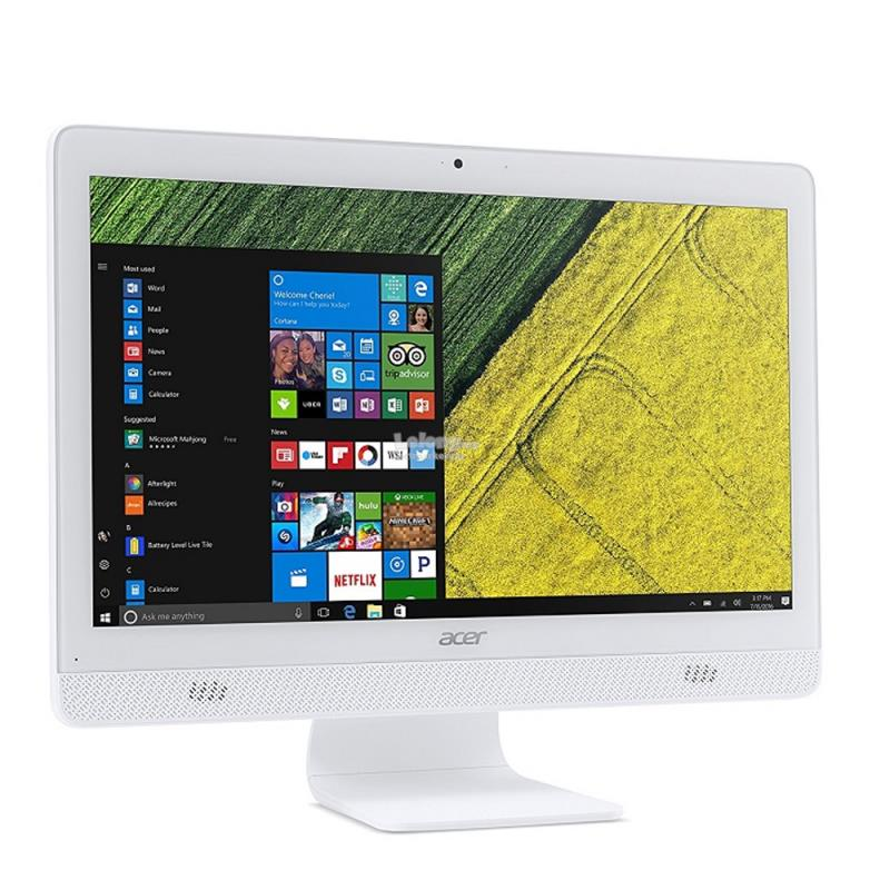 "Acer Aspire C20 AC20720-3060W10 19.5"" AIO PC (J3060, 4GB, 500GB, W10)"