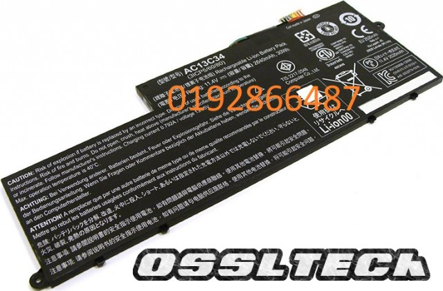 Acer Aspire V5 E3-111 112 122 122P 132 132P AC13C34 Battery
