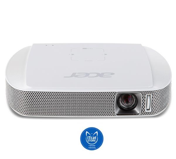NEW ACER C205 FWDGA PORTABLE LED PROJECTOR - 2 YW (MR.JH911.004)