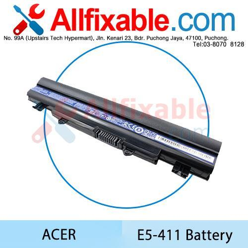 Acer E5-411 Extensa 2509 2510 2510G TravelMate P256-M Battery