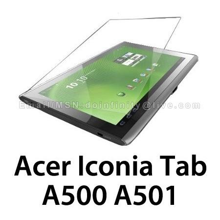 New Acer Iconia Tab A500 Transparent Clear Screen Protector Cover Film
